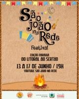 Banner São João na Rede