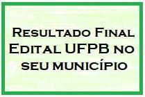 Resultado Final UFPB no seu município