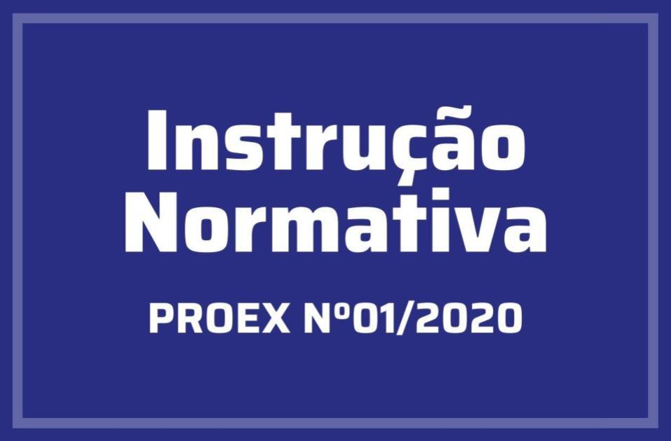 Instrução Normativa Nº01/2020