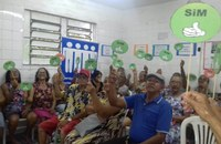Projeto aborda o uso consciente de medicamentos pelos idosos