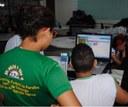 Atividade do LEPPI na escola de Educação Básica da UFPB. Imagem cedida pela equipe_2019
