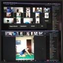 Transmissões realizadas pelo projeto_Imagens cedidas pela equipe PROGYM
